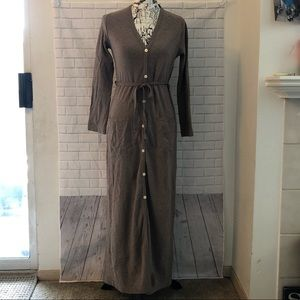 Vintage Victoria's Secret button down dress robe